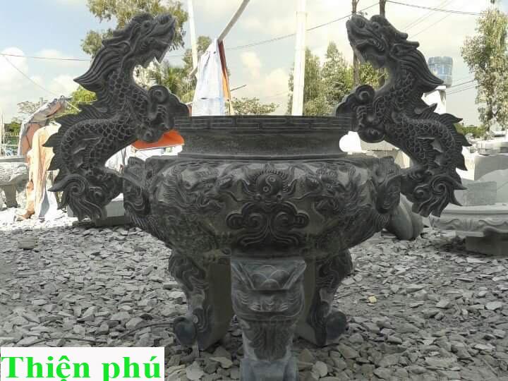 Lư hương đá LHD01